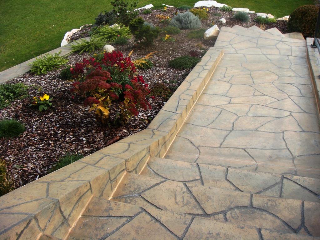 Decorative Concrete Overlay Stamped Concrete Overlay Decorative And Stamped Concrete Style