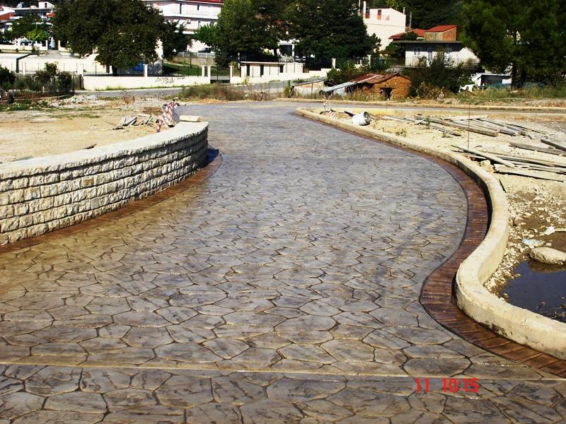 Concrete stamping mats